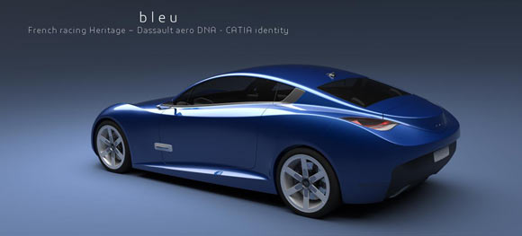 CATIA DS project blue