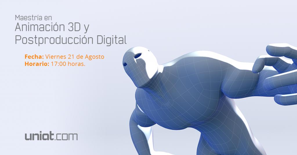 Maestria Animación 3D