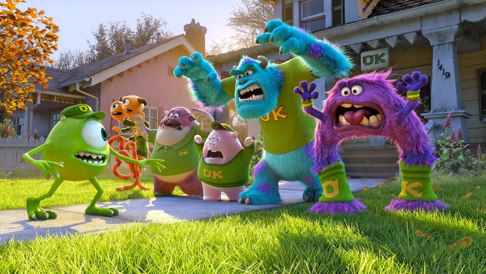 Los personajes más peludos y despeinados de Disney Pixar
