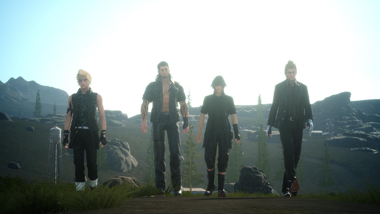 El arte detrás de Final Fantasy XV