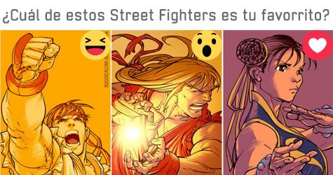 El videojuego Street Fighters cumplió su 29 aniversario