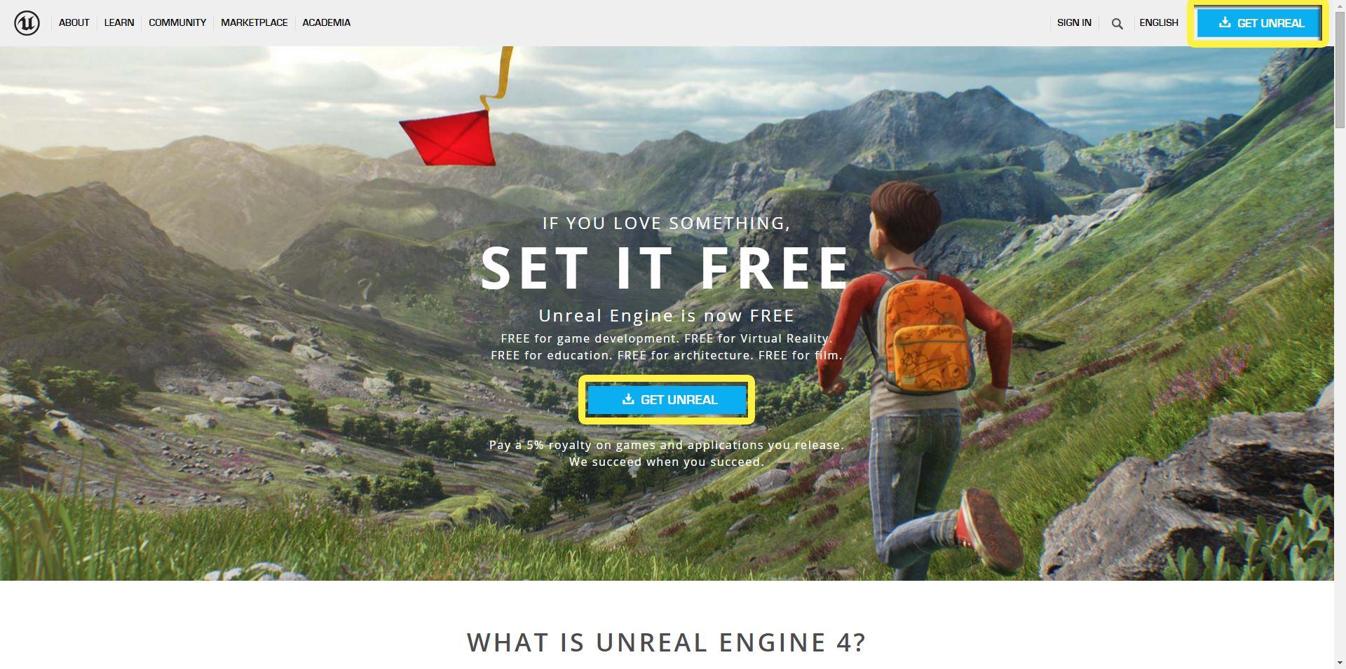 Unreal: Desarrollando VR a través de Mac